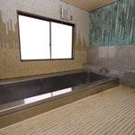 大きな浴室