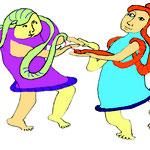 Schlangenmützenträger