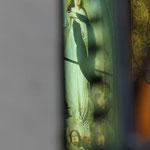Vitrail tableau - Chapelle funéraire à  Vicq.