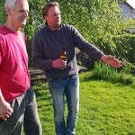Am Tag davor Loch Graben /Andi, Bernhard & Leo