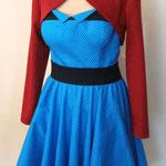 60er Kleid mit Bolero
