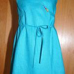Kinderkleid blau