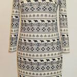 Winterkleid aus Jersey