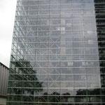 Immense façade de verre