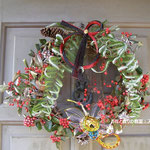 お正月ドア飾り