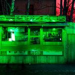 Döner in Grün (Beleuchtung durch Ampel)