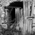 Alte Holztüre