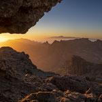 Sonnenuntergang Gran Canaria mit Sicht auf Teneriffa ES