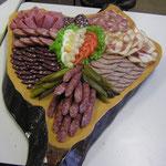 Hausmacher WurstplatteKäseplatte