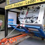 Müden Reinigung GmbH® Filialen, Bilder & Impressionen, Reinigungsmaschine gekippt GHF