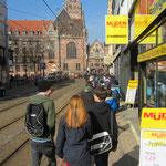 Müden Reinigung GmbH® Filialen, Bilder & Impressionen, Filiale GHF Straßenansicht Großherzog-Friedrichtr.10