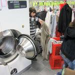 Müden Reinigung GmbH® Filialen, Bilder & Impressionen, GHF Neue Maschine von Biesinger