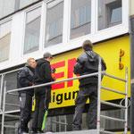 Müden Reinigung GmbH® Filialen, Bilder & Impressionen, Filiale GHF Montage Außentransparent