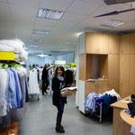 Müden Reinigung GmbH® Filialen, Bilder & Impressionen, Angela in Laden GHF