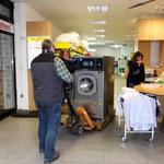 Müden Reinigung GmbH® Filialen, Bilder & Impressionen, Waschmaschine in Laden