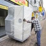 Müden Reinigung GmbH® Filialen, Bilder & Impressionen, Filiale GHF Einbringung Maschine