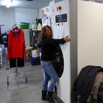 Müden Reinigung GmbH® Filialen, Bilder & Impressionen, Trudel umarmt Reinigungsmaschine