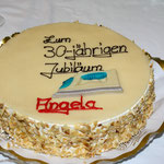Müden Reinigung GmbH® Filialen, Bilder & Impressionen, Kuchen Angela 30 Jahre