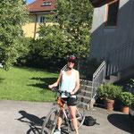 Am nächsten Tag perfektes Bike Wetter 😃