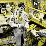 """""""LEUCHTSTOFFGRUBE"""" - Leuchtkasten, 2000"""