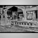 """""""BAUARBEITER"""", Ausschnittbild Stereofotografie, 2000"""