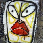 Wandmalerei im Parkhaus, Galerie Maier, Kitzbühel, 2001