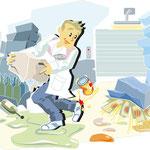 """Illustration für """"Minutentrainer"""" von mediadidakt"""