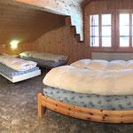 Schlafzimmer Tschuggi mit 5 Betten