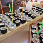 Hausgemachte Sushi