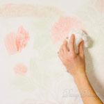 6) затем губкой растушёвываем цвета