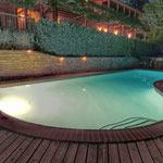 The Pool is open seasonally with outdoor hot tub