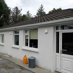 ALD160 background vents for a retrofit with external wall insulation