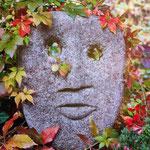 Natourzeiten - Gesicht in Stein gemeißelt