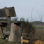Natourzeiten - XXL Bank am Sinnepfad, Hennesee