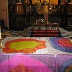 Von Georg mitgestaltetes Altartuch