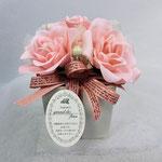 石鹸素材の花材、アレンジメント2