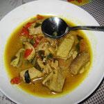 Fisch Curry, Rezept im Buch: S. 174