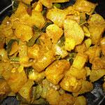 Süßkartoffel Curry, Rezept im Buch: S. 164