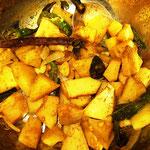 Brotfrucht Curry, Rezept im Buch: S. 126