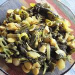 Jackfruit Seed Curry mit Spinat, Rezept im Buch: S. 139