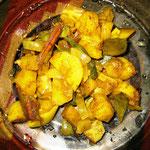 Kartoffel Curry, Rezept im Buch: S. 141