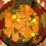 Möhren Curry, Rezept im Buch: S. 152