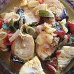 Fisch Curry für Venuji, Rezept im Buch: S. 188