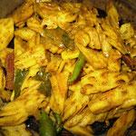 Lotuswurzel Curry, Rezept im Buch: S. 149