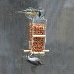 Замечательная оконная кормушка для птиц и фотографов