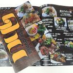 メニュー表(飲食店様)渋谷区