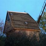 Die Mühle im Abendrot.