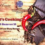 22 marzo 2016 Whats' cooking?  14 aspiranti Cuochi, uno Chef esperto, una Psicologa, e un menu completo da realizzare!