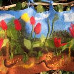"""Wandtasche """"Frühling"""""""
