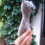 "Fingerpuppe ""Katze"""